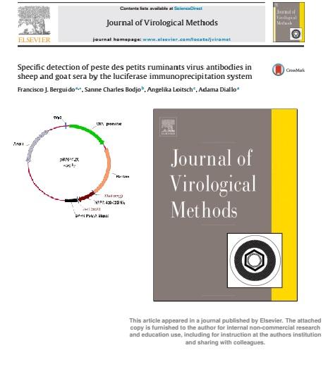 Specific Detection of Peste des Petits Ruminants Virus